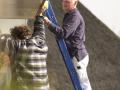 Jan Dekker en Nieuwenhuizen aan het werk