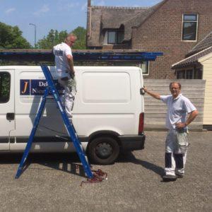 Jan Dekker en Jan Nieuwenhuizen